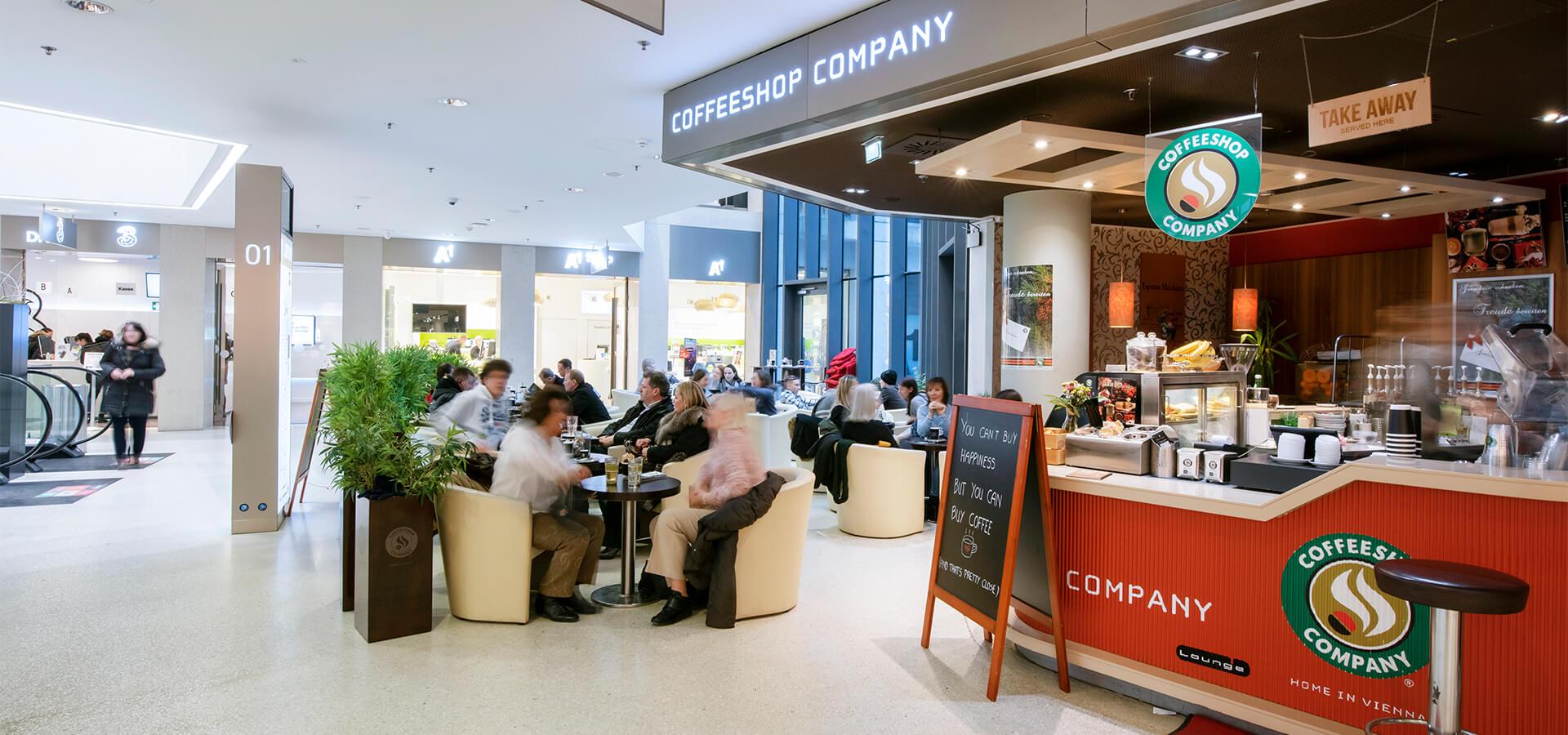Coffeeshop Company im Kaufhaus Tyrol
