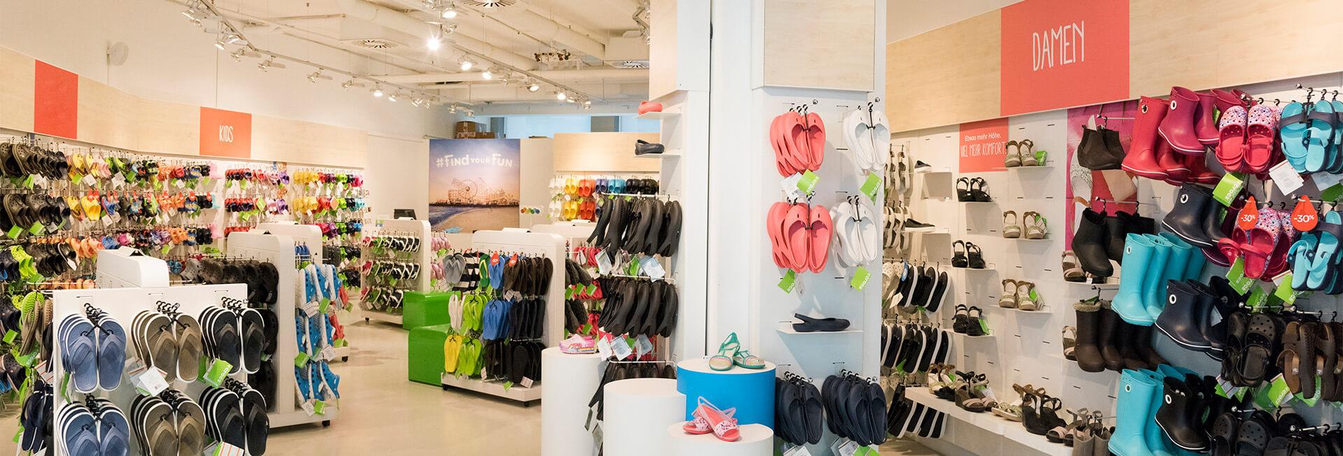 Crocs-Store-Kaufhaus-Tyrol