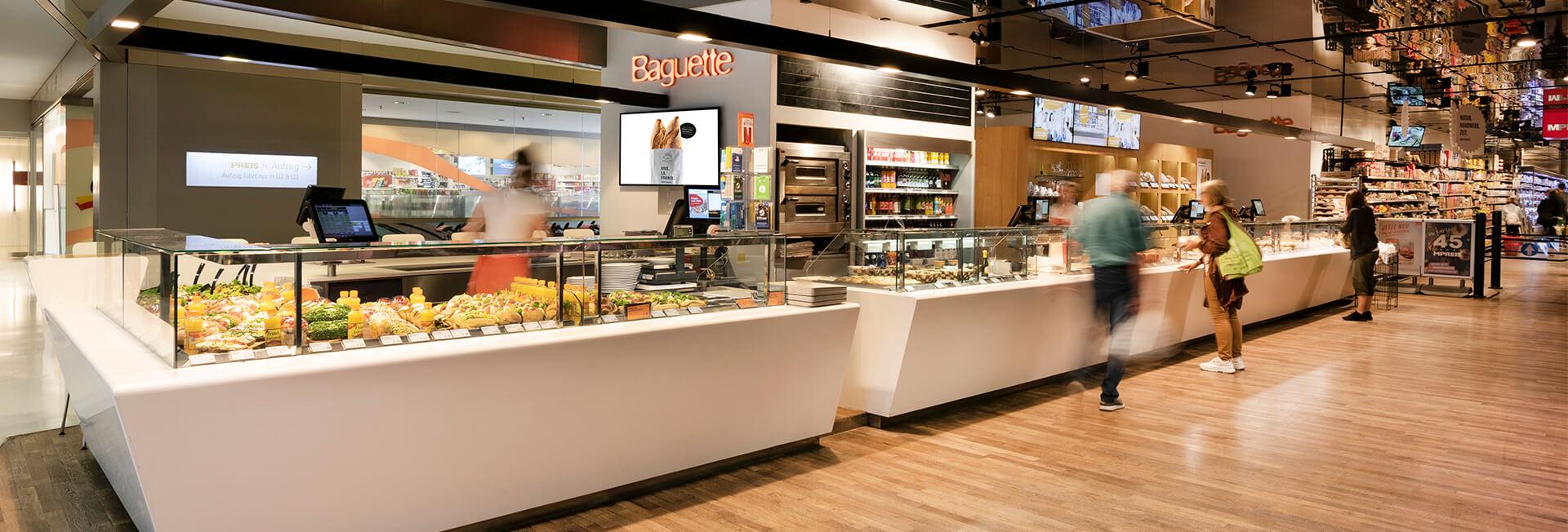 Baguette im Kaufhaus Tyrol