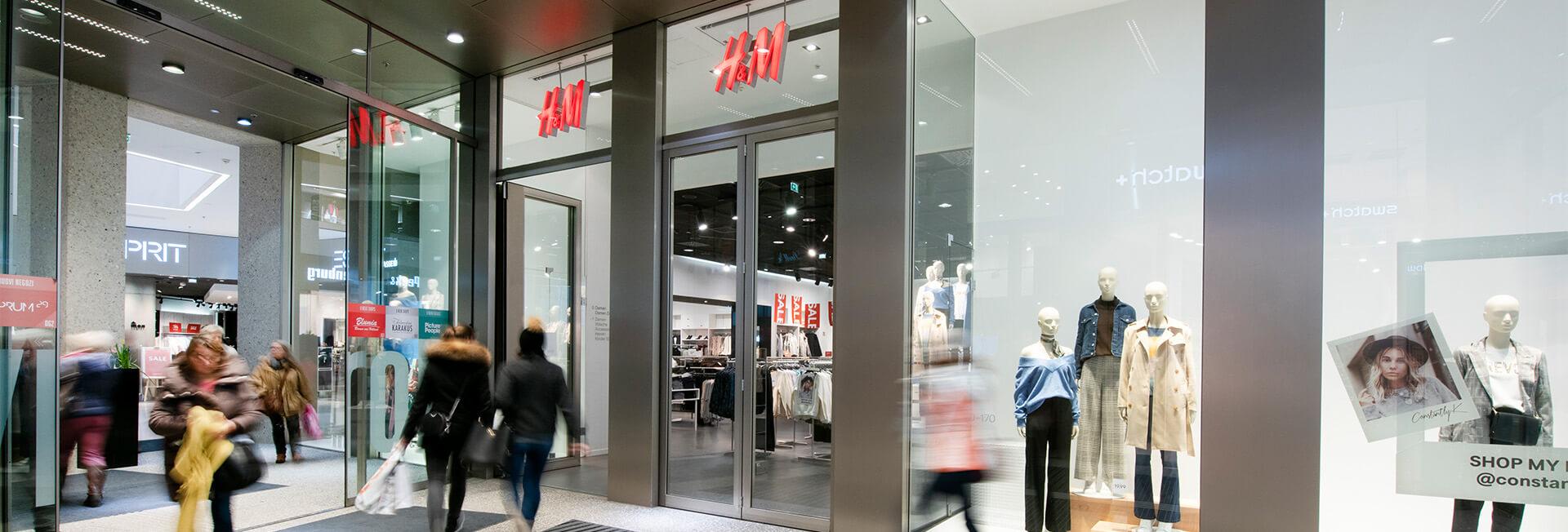 H&M im Kaufhaus Tyrol