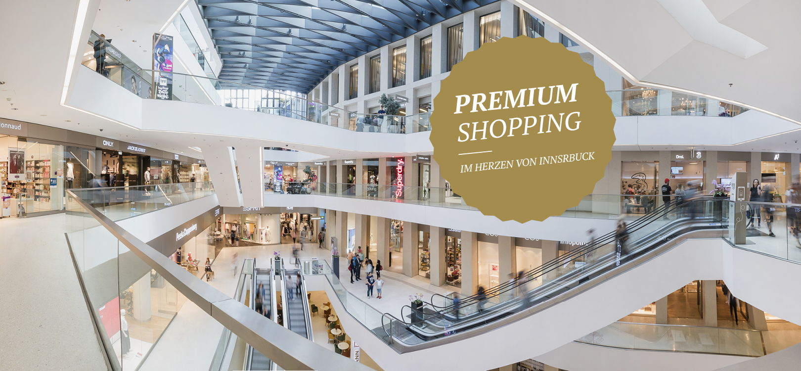 Premium Shopping in über 50 Shops