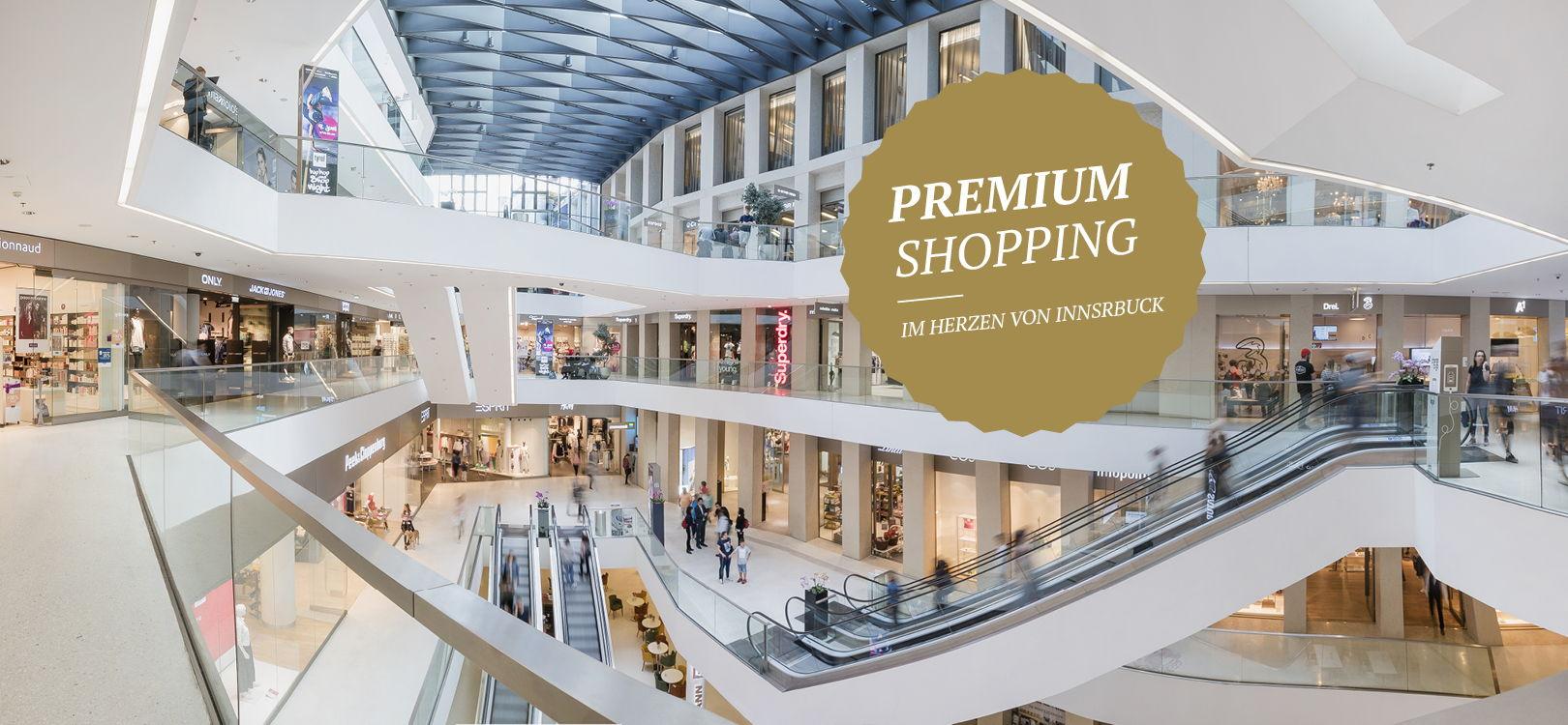 Premium Shopping in über 50 Shops