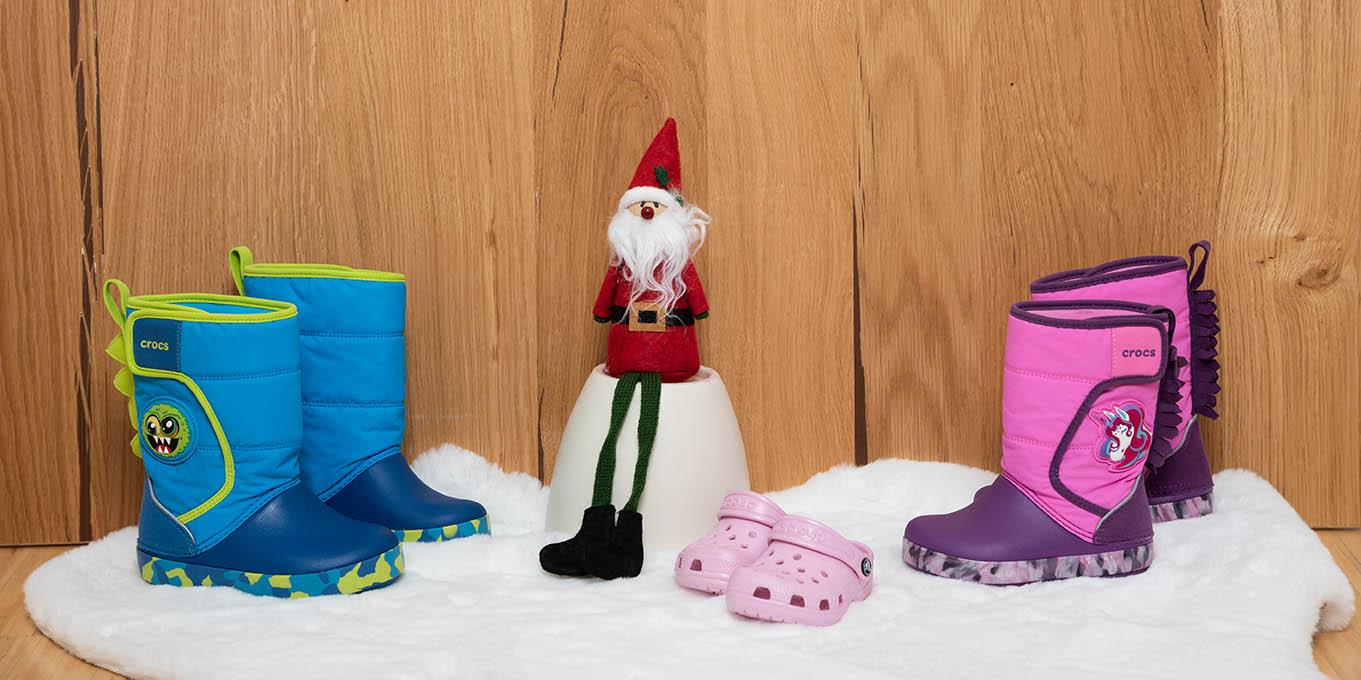 Geschenkideen für Kinder, Stiefel von Crocs