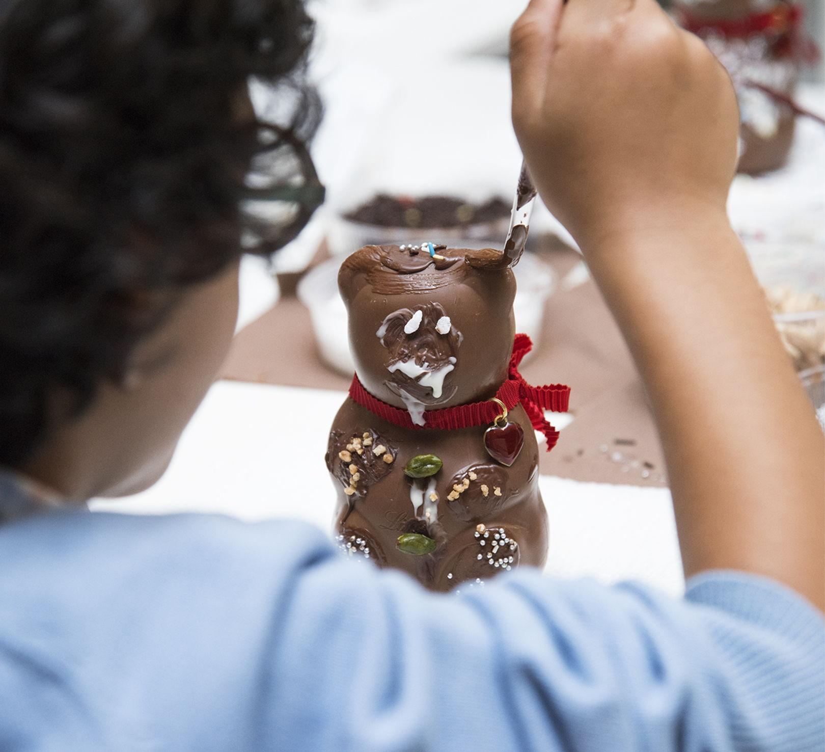 Lindt Schokoladewerkstatt im Kaufhaus Tyrol