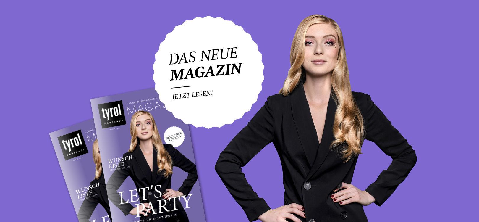 Kaufhaus Tyrol Weihnachtsmagazin 2018