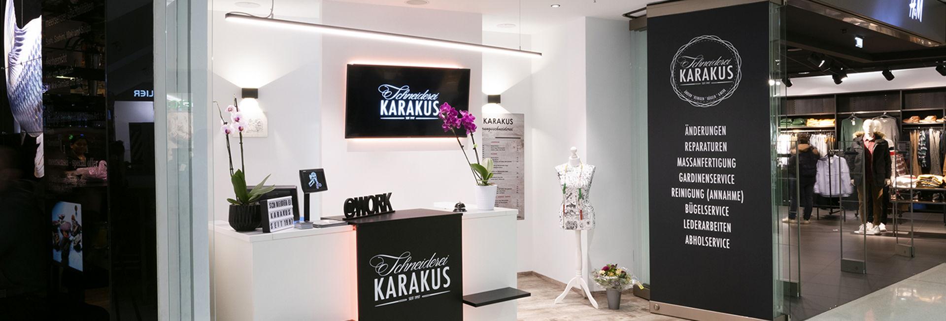 Änderungsschneiderei Karakus im Untergeschoss