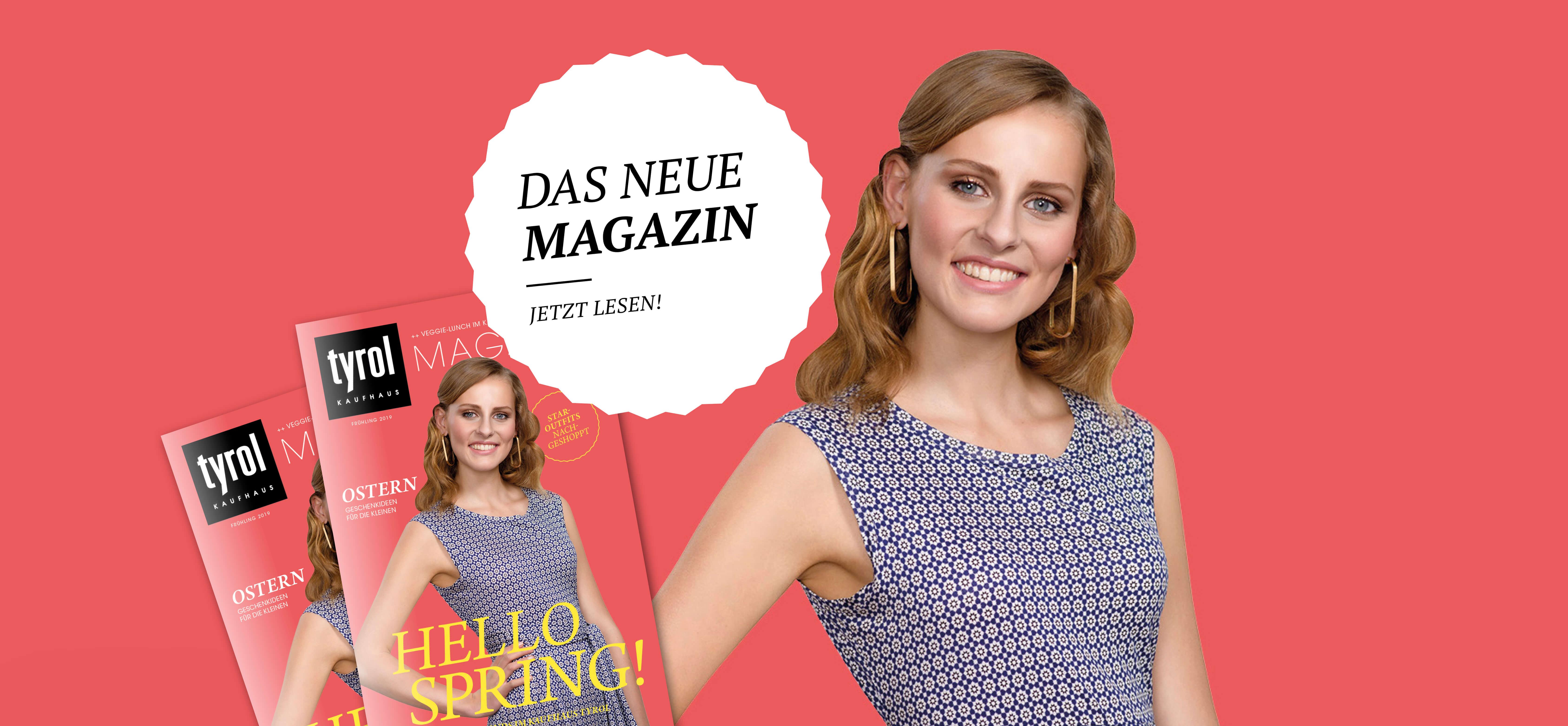 Kaufhaus Tyrol Frühjahrsmagazin