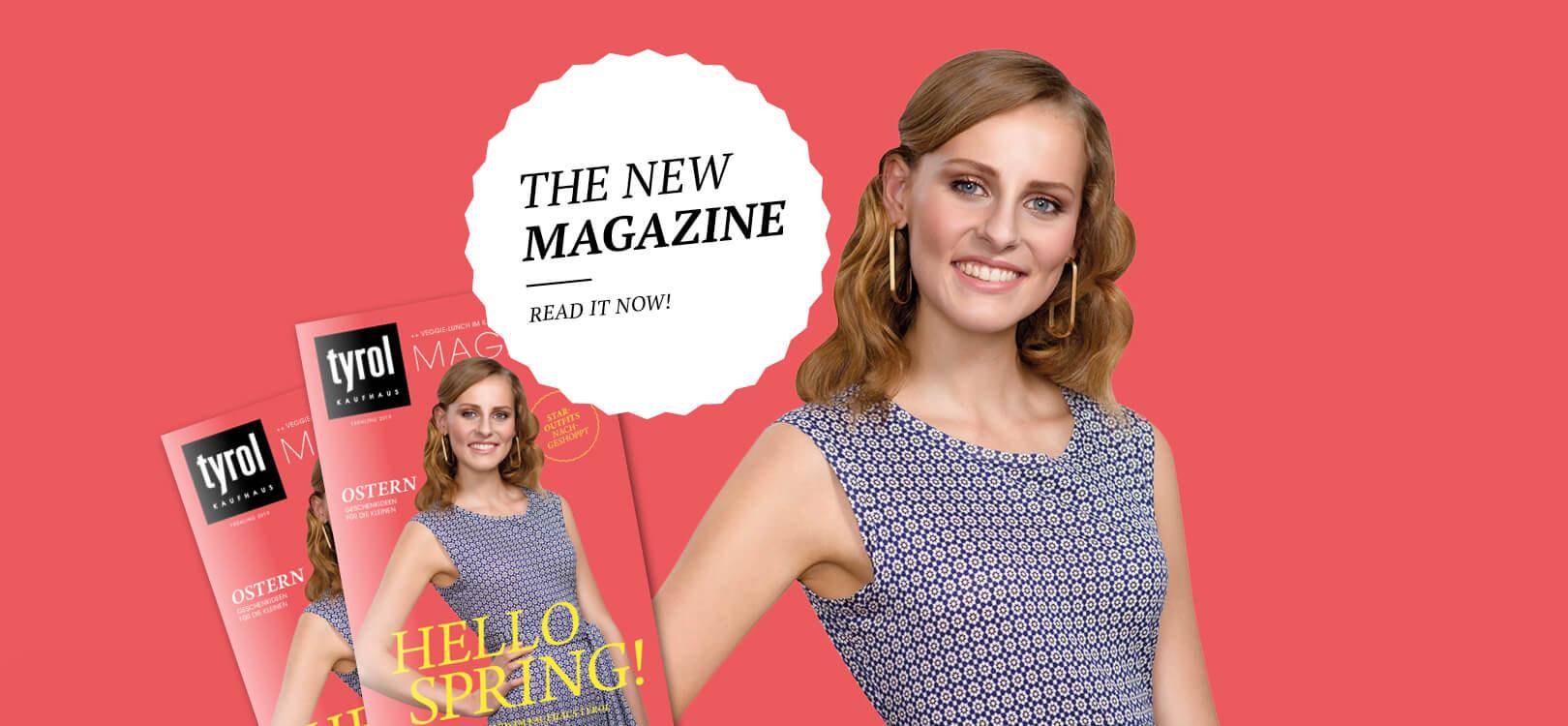 The new Magazin - Kaufhaus Tyrol
