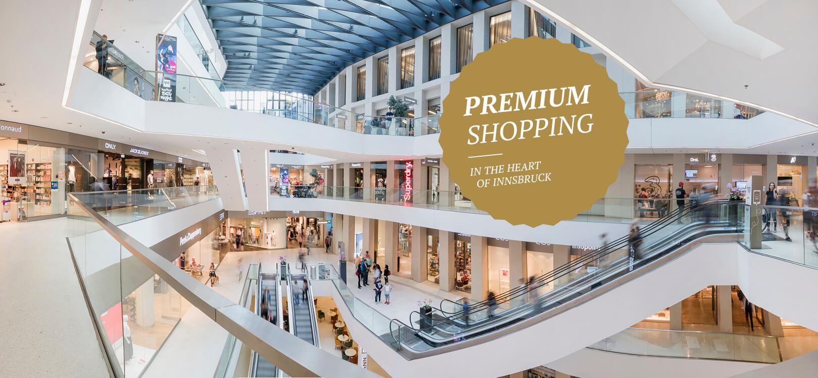 Premium Shopping Kaufhaus Tyrol