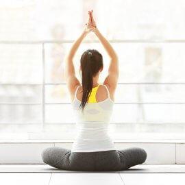 Yoga4Therapy am Dach des Kaufhaus Tyrol