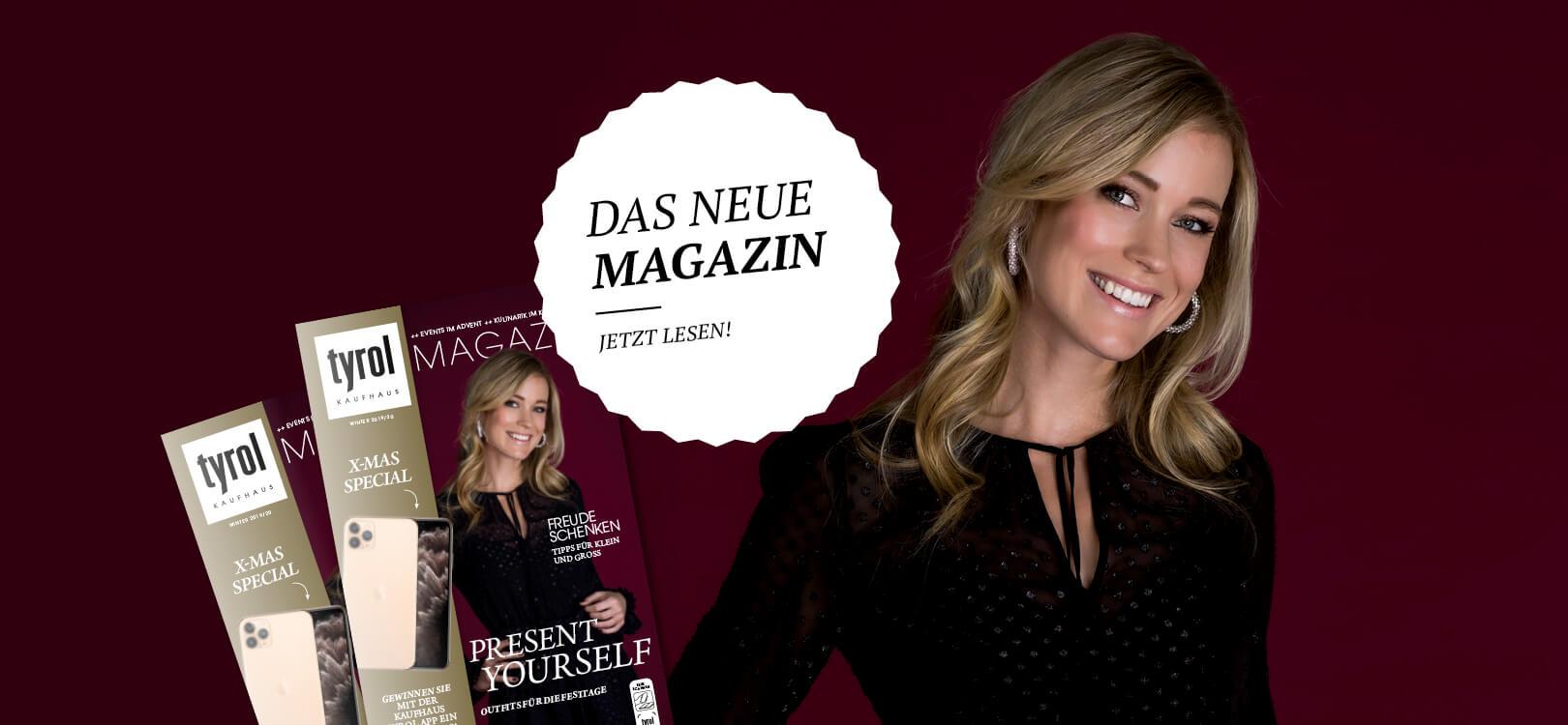 Kaufhaus Tyrol Magazin