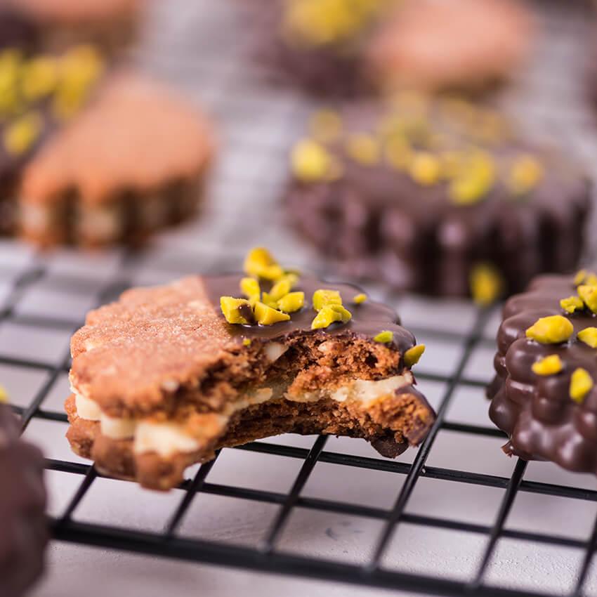 Marzipan Kekse Rezept von Mann Backt