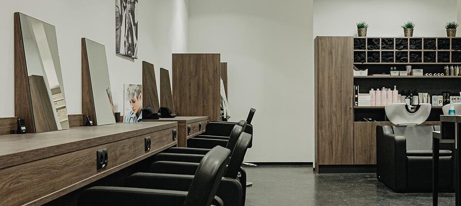 Daniels Haare im Kaufhaus Tyrol