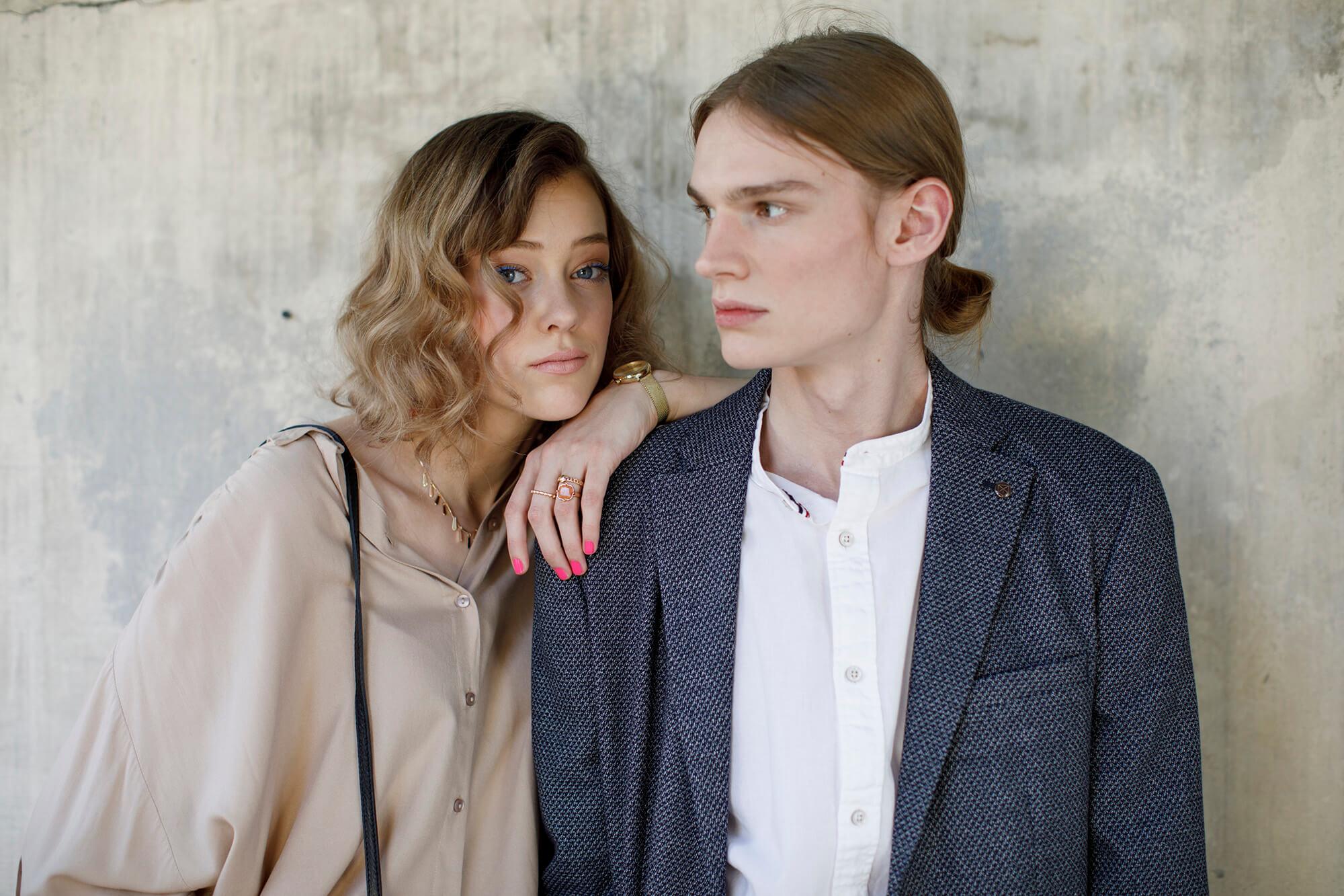 Modestrecke Magazin - Outfit von Vero Moda und Jack and Jones