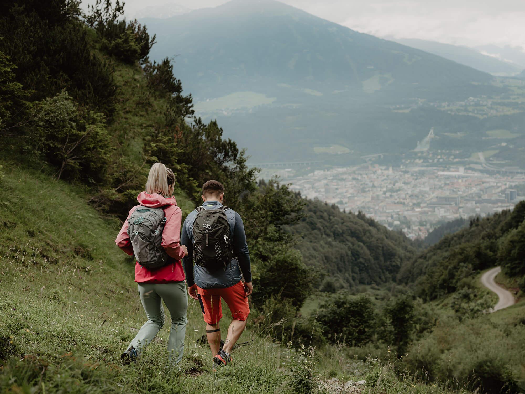 Wanderung über Innsbruck auf der Nordkette Innsbruck