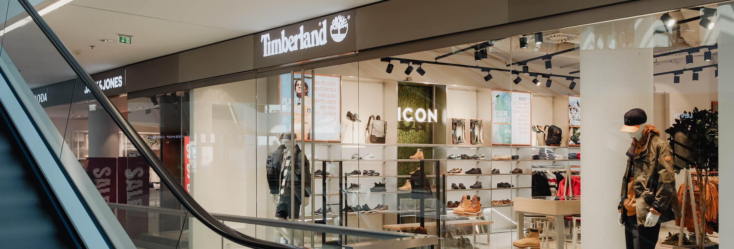 Neu im Kaufhaus Tyrol: Timberland