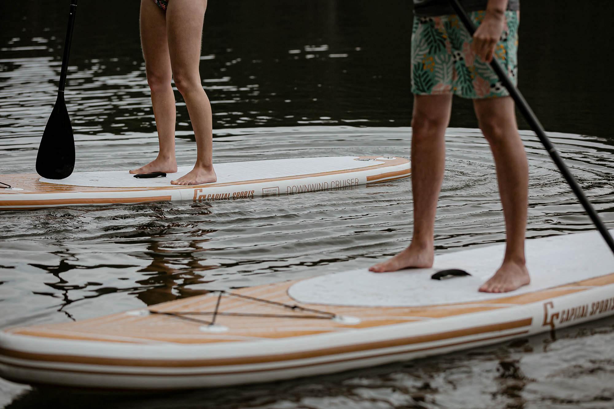 Urlaub Dahoam: Stand Up Paddeln am See