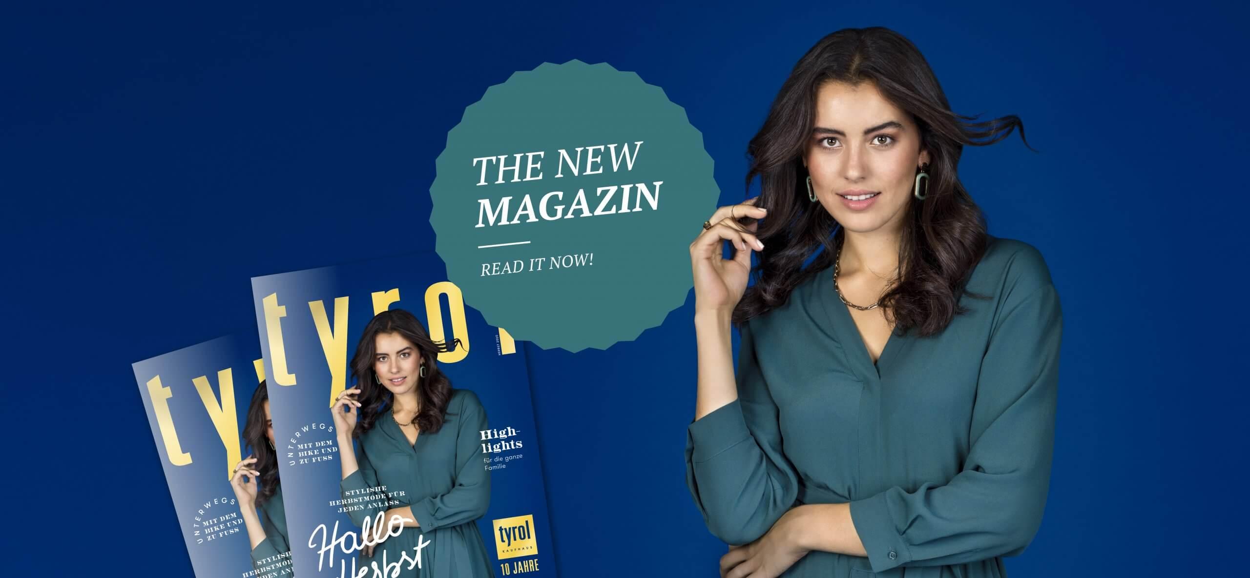 The new Magazine
