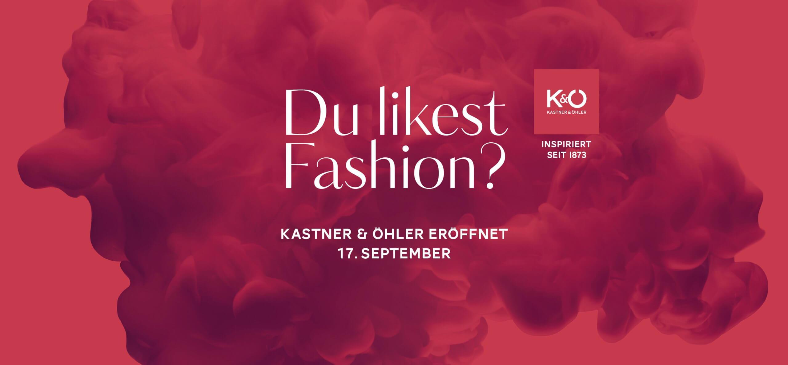 Eröffnung Kastner & Öhler im September