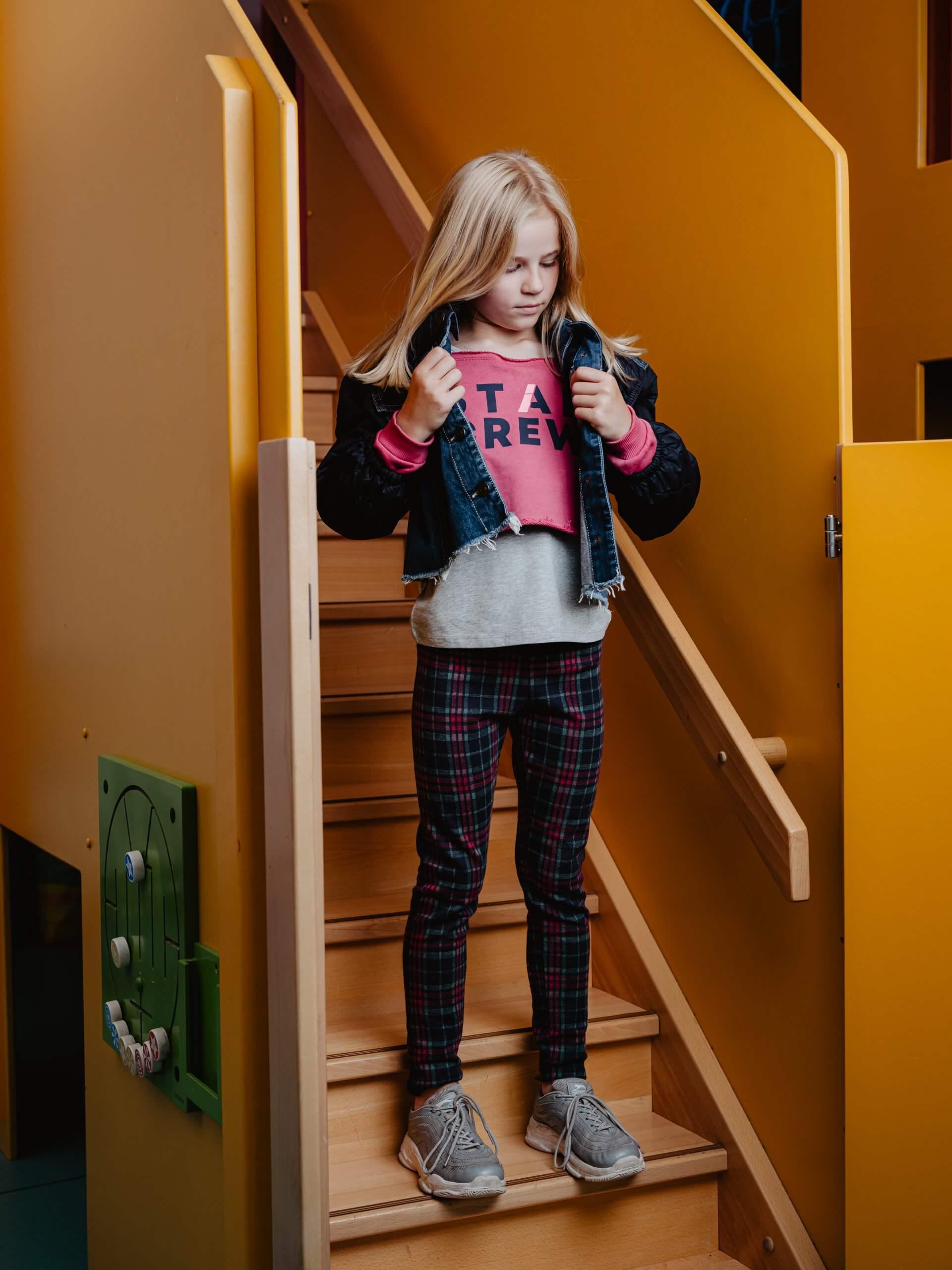 Lässiges Outfit für den ersten Schultag