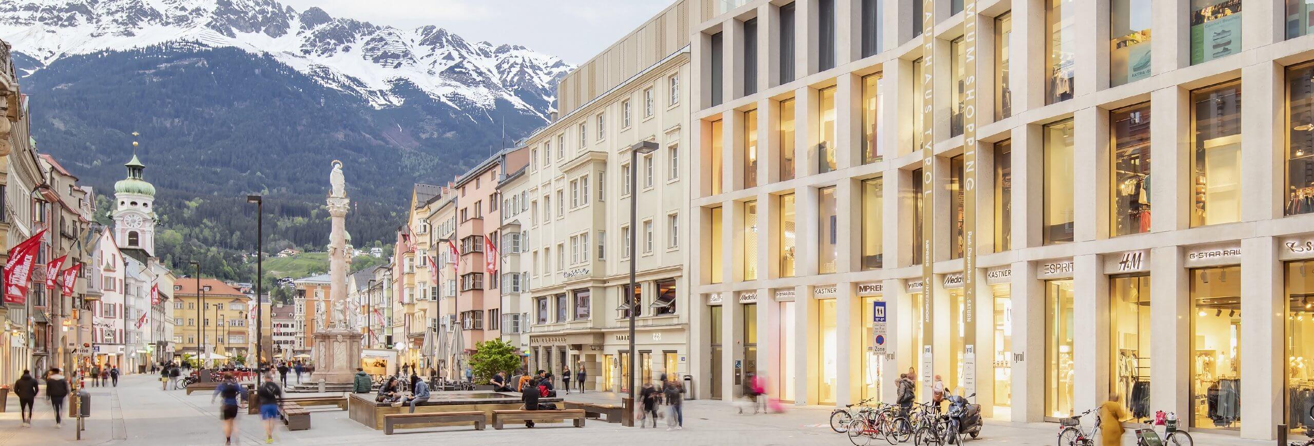 Fassade Kaufhaus Tyrol